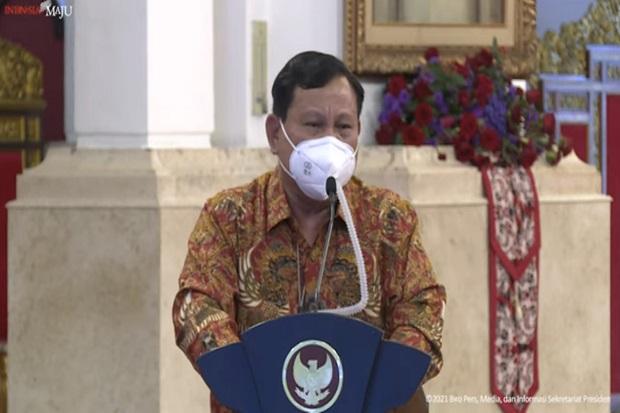 Bela Jokowi Soal Penanganan Covid-19, Prabowo: We Are on The Right Track