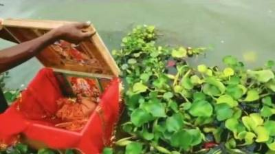 Bayi 21 Hari Dilarung di Sungai Gangga, Untung Ditemukan Tukang Perahu