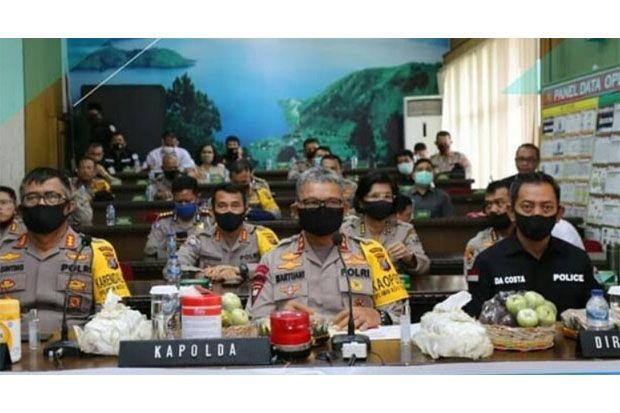 Kapolda Sumut Kampanyekan Stop Narkoba Lewat Zoom Cloud Meeting