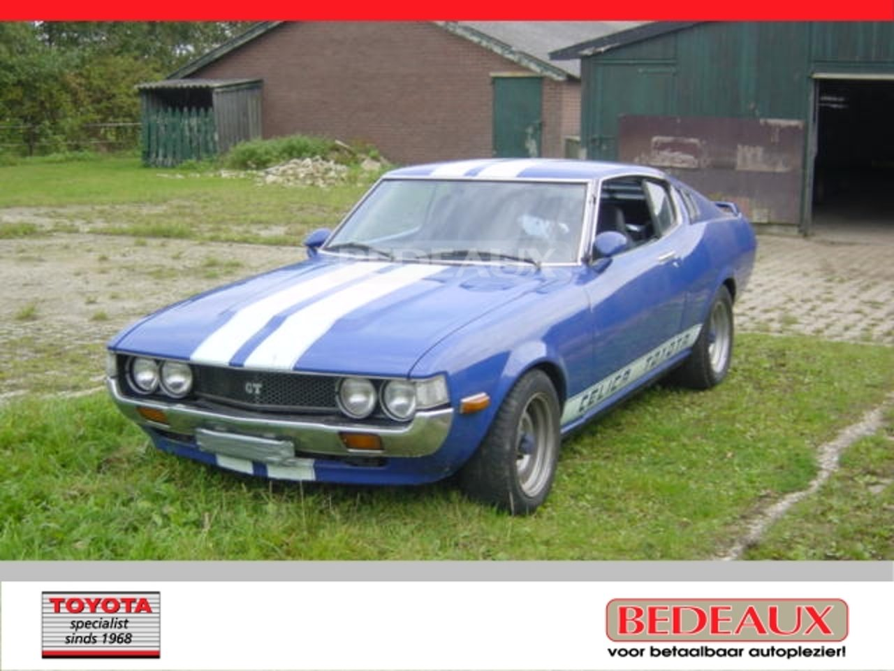 On monday we presented this week's shifter and asked you to identify the make and model of the vehicle from whence it came. Used Toyota Celica Ad Year 1977 99000 Km Reezocar