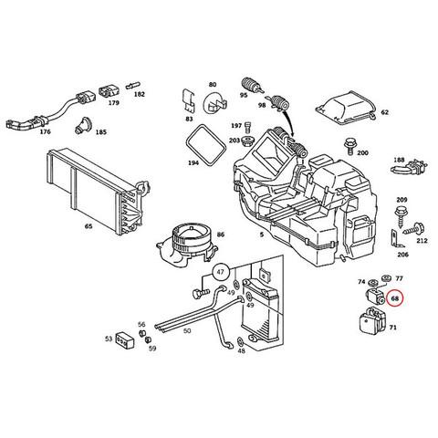 ベンツ エキスパンションバルブ < ベンツパーツ専門プロテックオートショップ