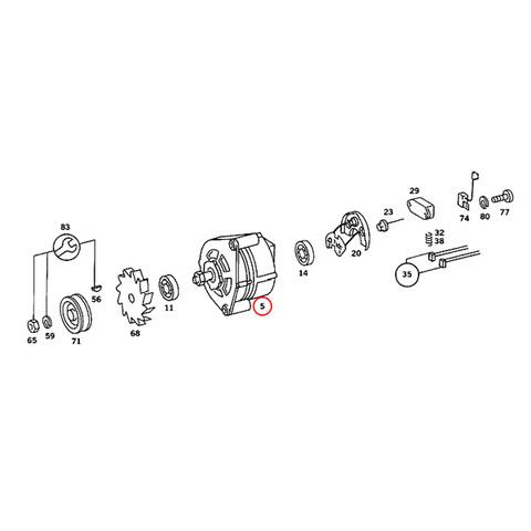 BOSCH製 ベンツ オルタネーター < ベンツパーツ専門プロテックオートショップ