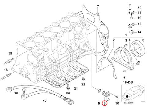 BMW クランク角センサー 3/5シリーズ < BMWパーツ専門プロテックオートショップ