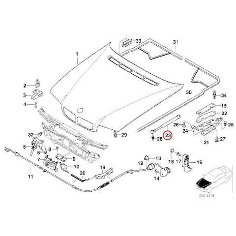 ボンネットダンパー < BMWパーツ専門プロテックオートショップ