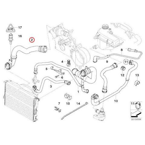 BMW ラジエーターホース/アッパーホース < BMWパーツ専門プロテックオートショップ