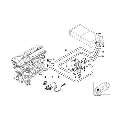 BMW E39 ヒーターホース 2本セット < BMWパーツ専門プロテックオートショップ