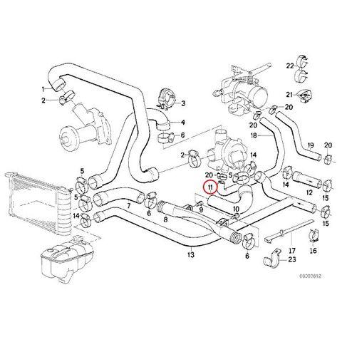 クーラントホース < BMWパーツ専門プロテックオートショップ