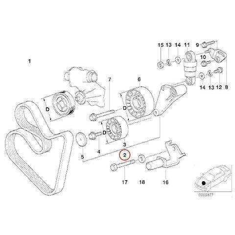 BMW E34 E38 E32 E31 アイドラプーリー < BMWパーツ専門プロテックオートショップ
