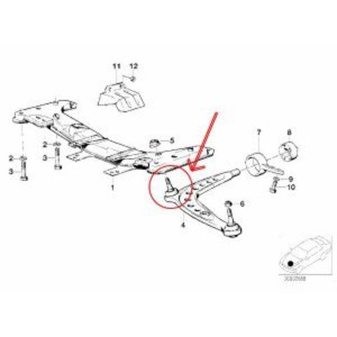 MEYLE製 BMW E30 ボールジョイント < BMWパーツ専門プロテックオートショップ