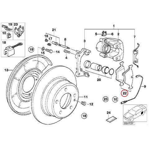 BMW ブレーキパッド 3/5/7シリーズ Zモデル < BMWパーツ専門プロテックオートショップ