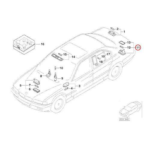 ライセンスランプ ナンバー灯 < BMWパーツ専門プロテックオートショップ