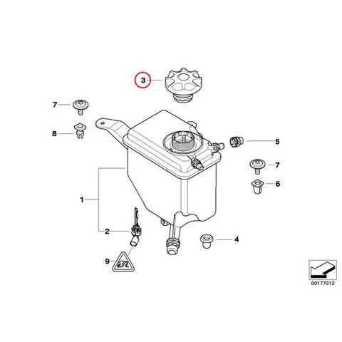 BMW リザーバータンクキャップ < BMWパーツ専門プロテックオートショップ
