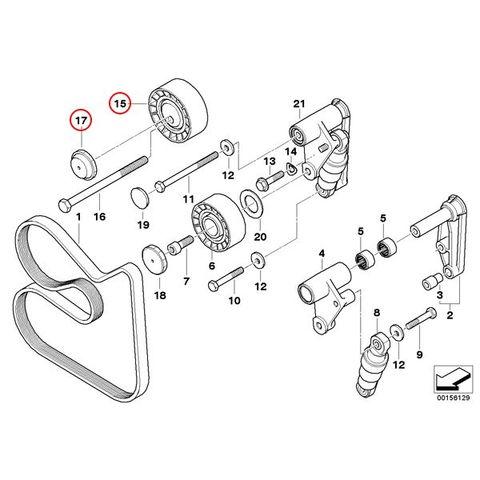 オルタネータ側ベルト用 アイドラプーリー < BMWパーツ専門プロテックオートショップ