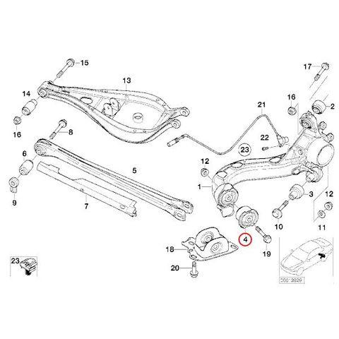 リアトレーディングアーム ラバーブッシュ < BMWパーツ専門プロテックオートショップ