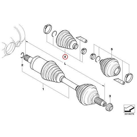 ドライブシャフトブーツキット < BMWパーツ専門プロテックオートショップ