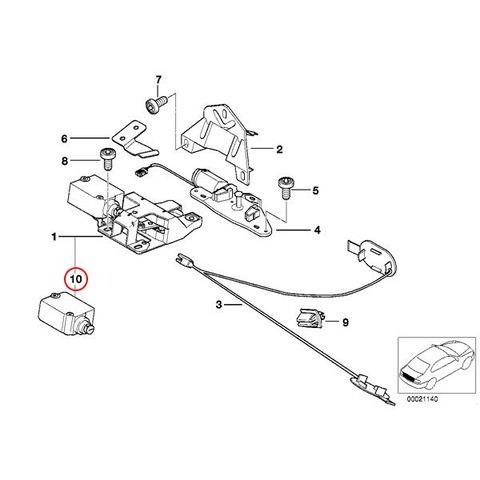 トランクロックアクチュエーター < BMWパーツ専門プロテックオートショップ
