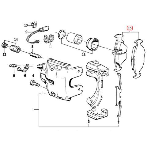 フロント ブレーキパッド < BMWパーツ専門プロテックオートショップ