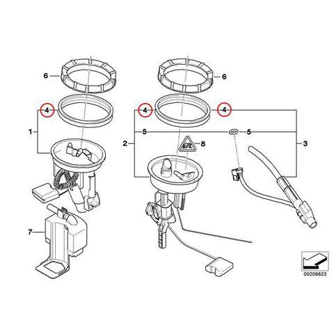 BMW シールリング フューエルタンク用 < BMWパーツ専門プロテックオートショップ