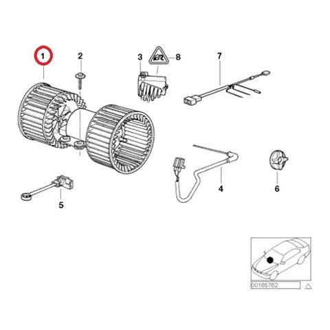 AC/ヒーター|ブロアモーター < BMWパーツ専門プロテックオートショップ