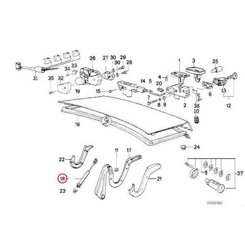 トランクダンパー,トランクリッドガスダンパー < BMWパーツ専門プロテックオートショップ