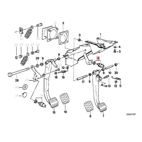BMW ブレーキストップランプスイッチ < BMWパーツ専門プロテックオートショップ