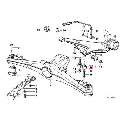 BMW リア ステアリングアーム < BMWパーツ専門プロテックオートショップ