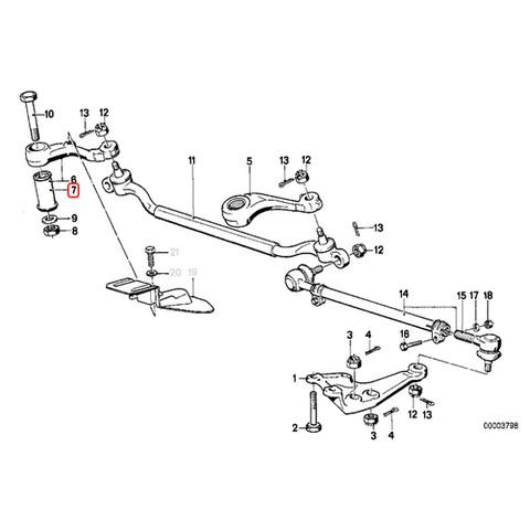 BMW ステアリング アイドラアームブッシュ < BMWパーツ専門プロテックオートショップ