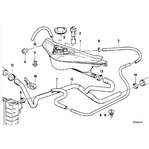 ラジエーター リザーバータンク|サブタンク < BMWパーツ専門プロテックオートショップ