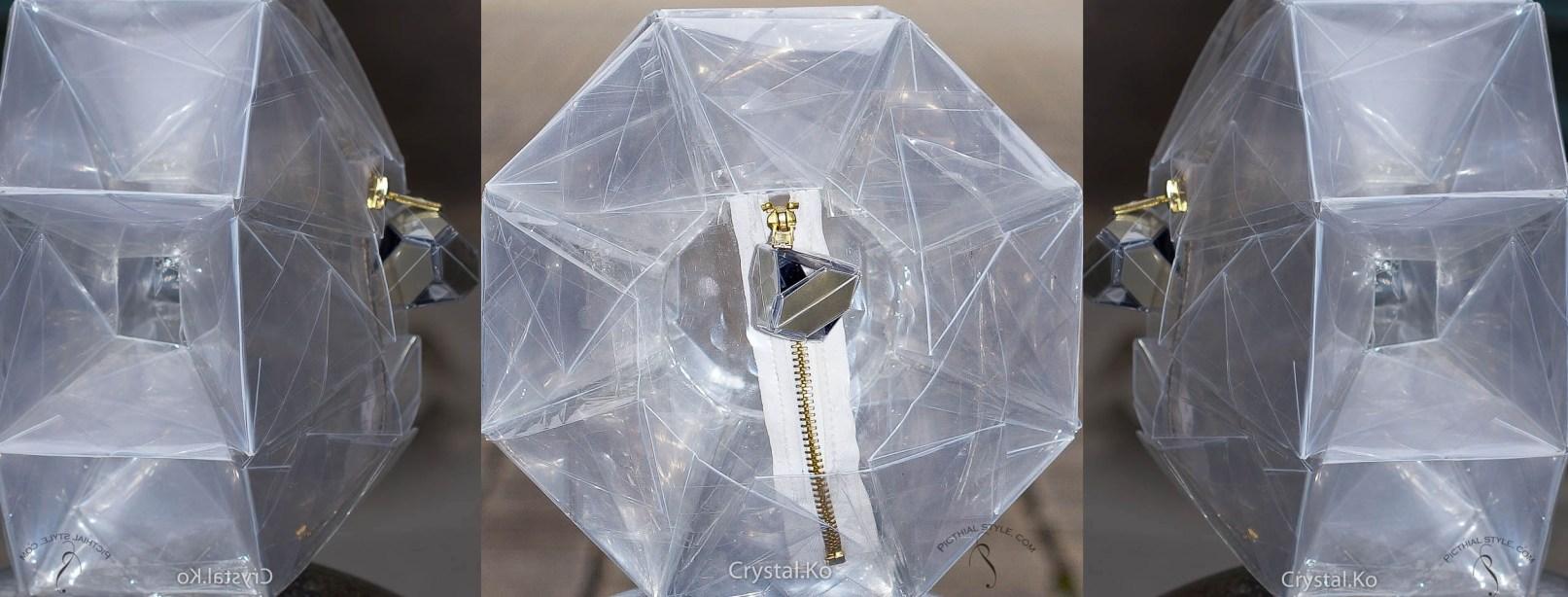 Cristal ko Clutch Bag