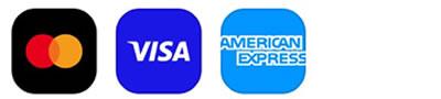 Mastercard | VISA| American Express