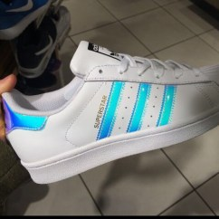 Metal Kitchen Chairs Canada Bouncy Chair Weight Limit Adidas Superstar (gs)white Silver Juniors Women's Girls Boys Trainers