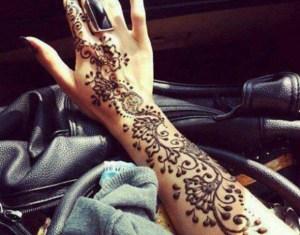 Earth Henna Temporary Black Tattoos Mehndi Body Art