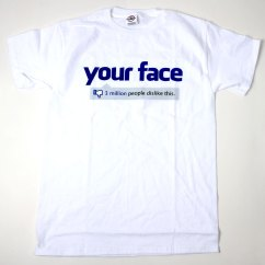 Cheap Kitchen Supplies Remodeling Virginia Beach Facebook Your Face T Shirt 3 Mil Dislikes All Sizes New ...