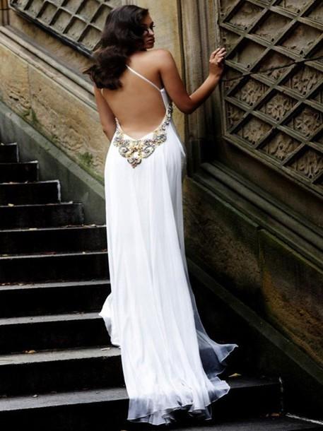 Dress Prom Dress, Wedding Dress, Ball Gown Dress, Open