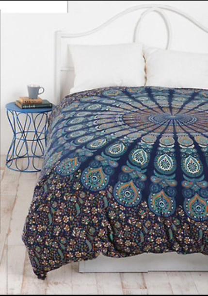 Bedding Bed Spread Indian Boho Boho Boho Chic Tapestry