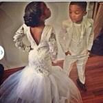 Jr Bride Dresses With Train