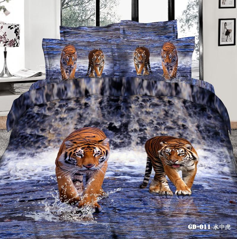 best fabric to cover kitchen chairs punisher skull adirondack chair pattern tiger king comforter sets 3d bedding set pillow covers duvet cases flat bed sheet 100% ...