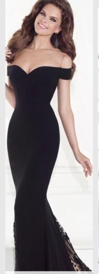 Dress: black dress, prom dress, mermaid prom dress, lace