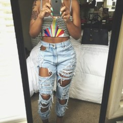 Denim Sofas Uk Ashley Furniture Millennium Sofa Extreme Ripped Mom Jeans – Outfit Made