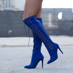 Cheap Kitchen Supplies Faucets Lowes Shoes: Blue, Heels, Boots, Knee High, Royal ...