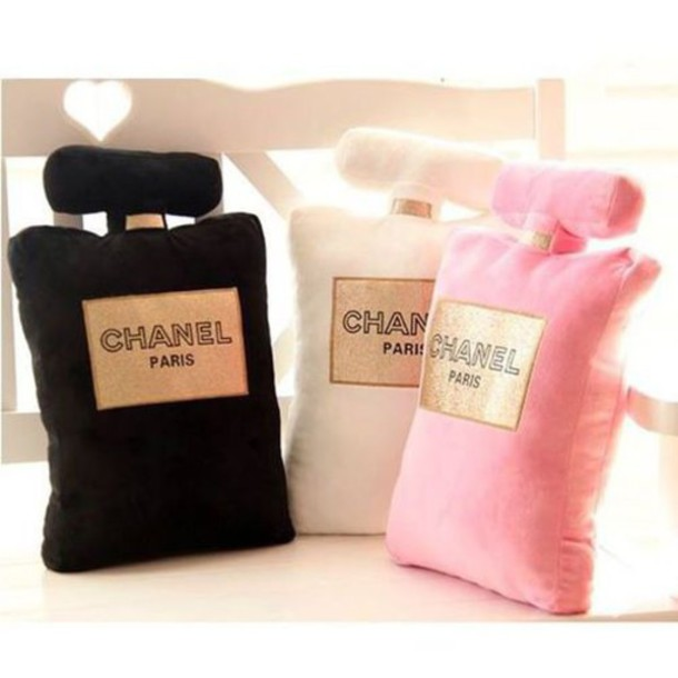 Home Accessory Chanel Inspired Pillow Home Decor Perfume