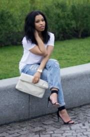 bag black girls killin heels