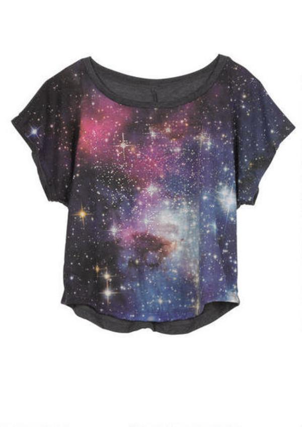 Shirt galaxy print galaxy print cute galaxy shirt