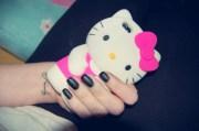 belt kitty pink iphone