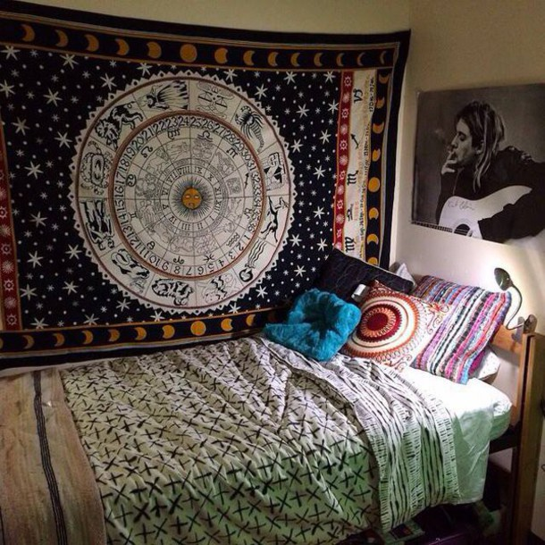 Home Accessory Horoscope Wall Hanging Horoscope Tapestry Wall