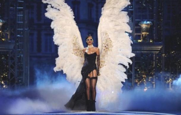 Dress Rihanna Wings Angel Wings Wheretoget