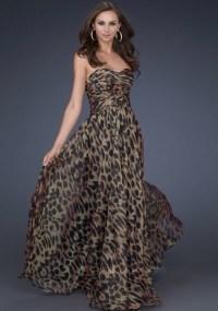 Dress: leopard print dress, prom dress - Wheretoget
