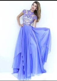 Dress: periwinkle bue, periwinkle prom dress 2016, prom ...