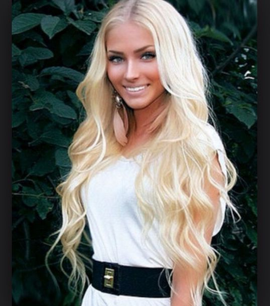 Classify Blonde Russian Model Beauty Queen And Socialite