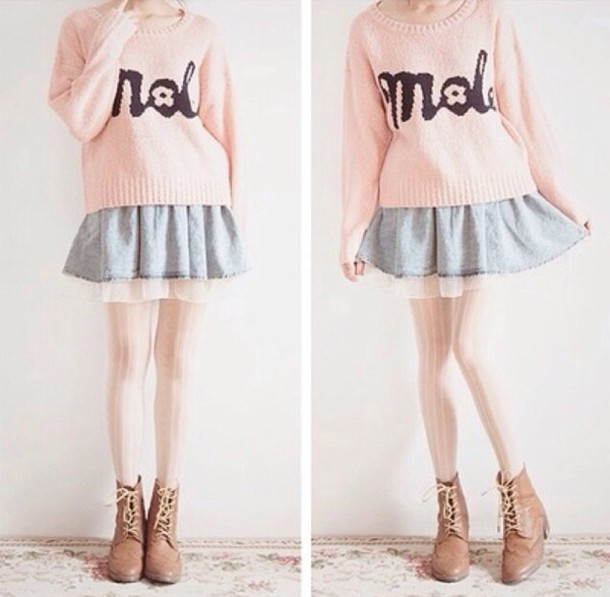 Image Result For Adorable Oversized Sweaters Winter Outfits Ideas